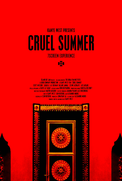 Kanye West // Cruel Summer <b> <br> Short Film