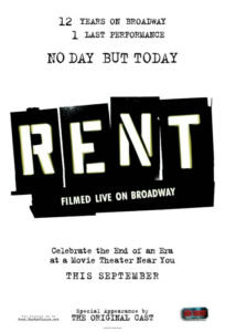 Rent // Filmed Live On Broadway